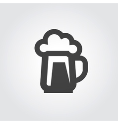 beer ale logo design template alcohol vector image