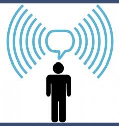 Broadband communication vector
