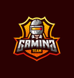 Awesome logo template for pubg gaming sport team vector