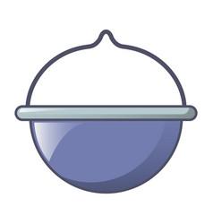 camp boiler icon cartoon style vector image