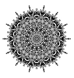 Decorative geometric ornament vector