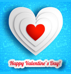 romantic celebrating background vector image