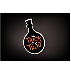 Speech bubbles set with halloween text vector
