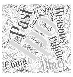 What is an IPO Word Cloud Concept vector