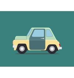 Vintage car vector image