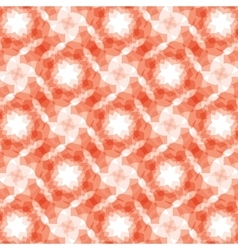 burgundy red geometric fractal seamless pattern vector image