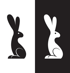 image of a rabbit design vector image