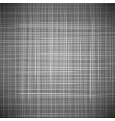 Black fabric texture vector image