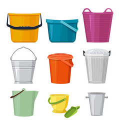Different buckets set isolate vector
