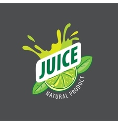 Logo juice vector