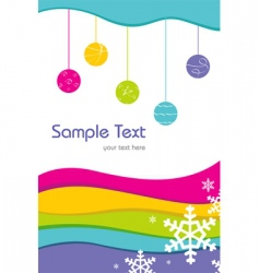 sample card vector image