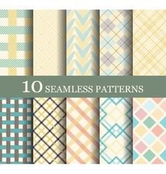Seamless modern patterns vector