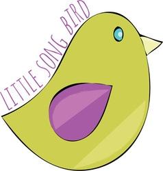 Song Bird vector