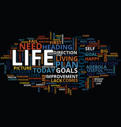 The need for goals text background word cloud vector