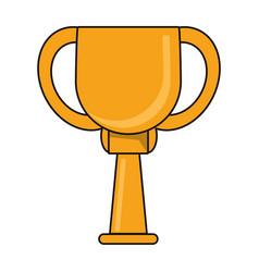 Trophy sport golden image vector