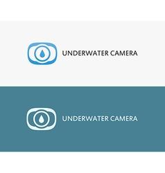Underwater camera vector