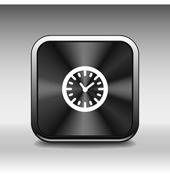clock icon time timer watch graphic vector image