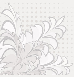 background made up of flowers and plants herbs vector image