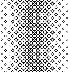 Abstract monochrome square pattern design vector image