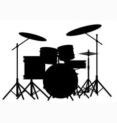 Drum kit vector