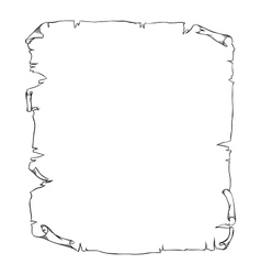 Old scroll page background for your designs and vector image