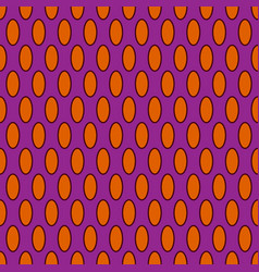 oval geometric seamless pattern 902 vector image