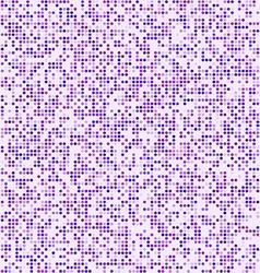 Purple circle pixel mosaic background vector