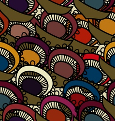 Seamless with floral pattern vector