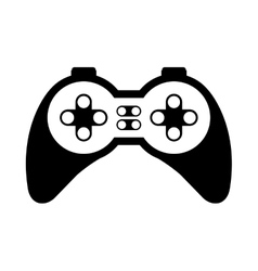 video game control vector image