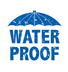 water drop text vector image