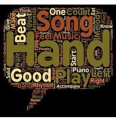 What Makes A Piece Of Music A Good Song text vector image