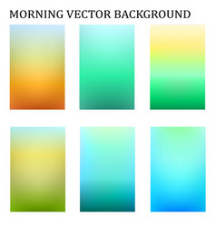 Abstract colorful in the moring blur template vector