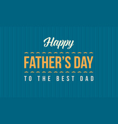 Collection stock father day banner style vector