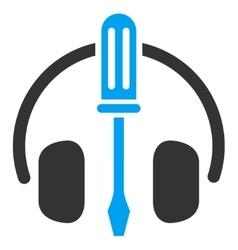 HeadPhones Tools Flat Icon vector