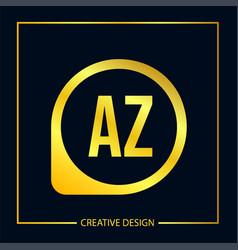 Initial letter ai logo template design vector