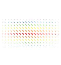 Satellite spectral halftone grid vector
