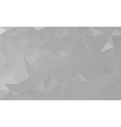white polygon background vector image