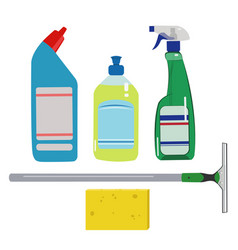 House cleaning set vector