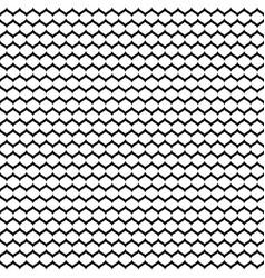 seamless pattern monochrome mesh black white vector image vector image