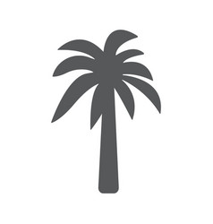 palm icon concept for design vector image vector image