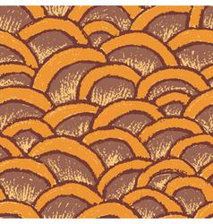 Natural pastel made seamless pattern vector image