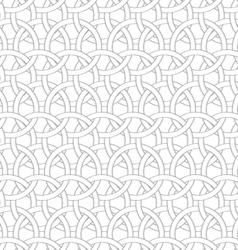 3d interlocking circles vector