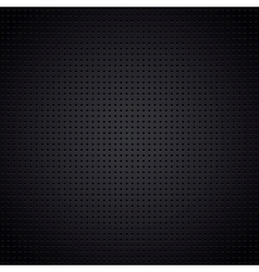 Structured metallic perforated sheet vector image vector image