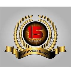 Anniversary10 years set vector