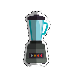 blender machine household appliance vector image