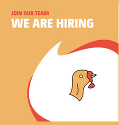 join our team busienss company turkey we are vector image