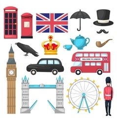 London Icon Set vector