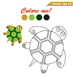 simple and easy educational game for children vector image