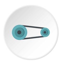Spiral tool icon circle vector