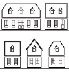 house4 vector image